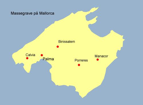Massegrave - Mallorca kort