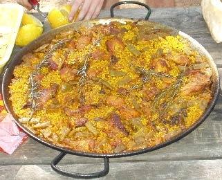 Mallorcas specialiteter, paella